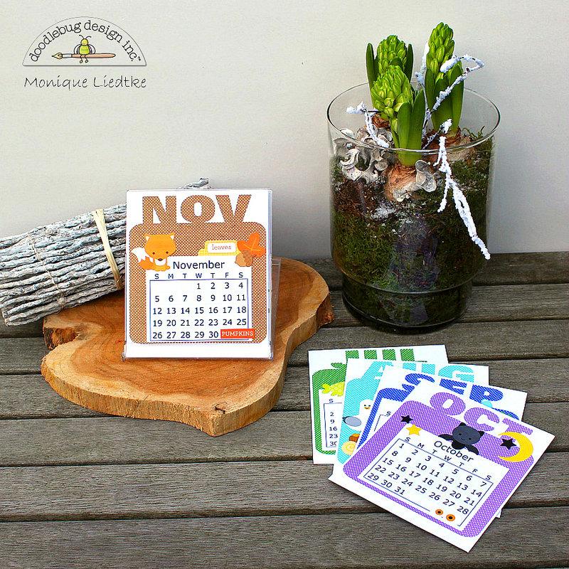 Doodlebug 2017 Desk Calendar