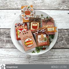 Thanksgiving Gift Bags - Imaginisce