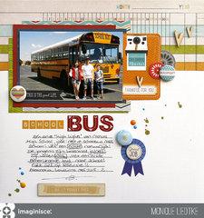 School Bus - Imaginisce