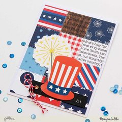 Pebbles Memorial Day Cards
