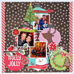 Holly Jolly - Pebbles Inc