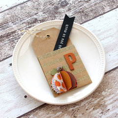 Pebbles Woodland Forest Table Place Cards