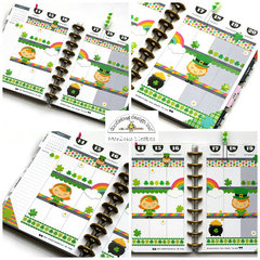 Pot O' Gold Planner Spread - Doodlebug