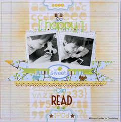 I'm so happy I can read (Doodlebug)