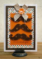 You are wonderful card - Imaginisce/Core'dinations