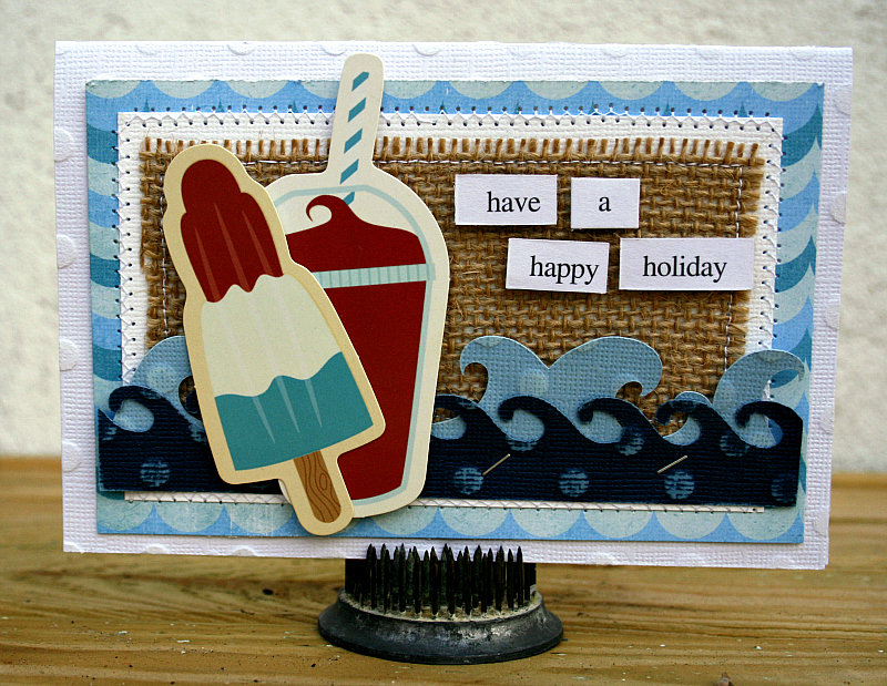 Have a happy holiday card - Imaginisce/Core'dinations