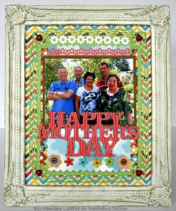 Mother's Day Photo Frame - Doodlebug
