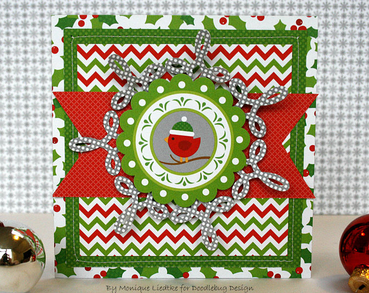 Christmas card - Doodlebug