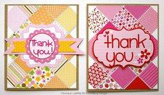Doodlebug Thank You Cards