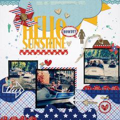 Hello Sunshine Kiwi Lane & Doodlebug