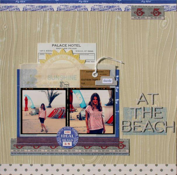 At the beach - Jenni Bowlin