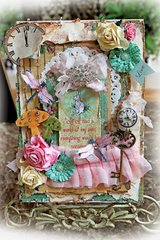 Alice In Wonderland Altered Configuration Box *Scraps Of Elegance* July Kit~Chasing Rabbits