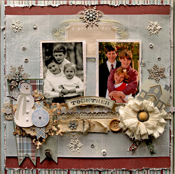 A Perfect Day Together **SCRAPS OF DARKNESS** December Kit-A Long December