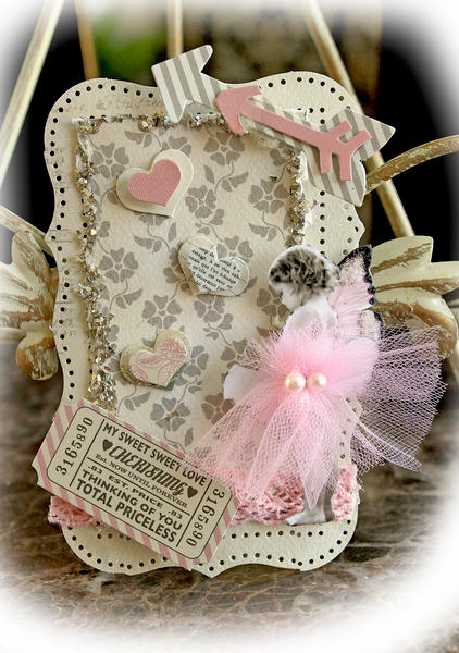 Cherish ATC **SCRAPS OF ELEGANCE** February Kit -Love Song