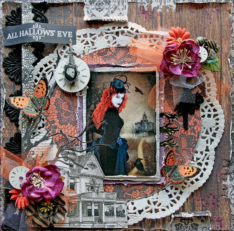 All Hallows' Eve *Scraps Of Darkness* October Kit~Bon Appetit!!