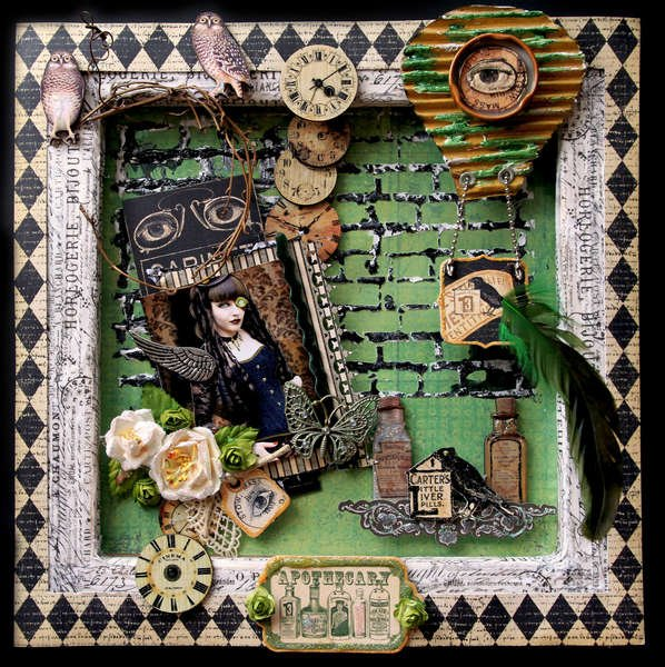 Apothecary **SCRAPS OF DARKNESS**  March Kit-Needful Things