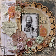 Aunt Annie **SCRAPS OF DARKNESS** February Kit-Victoriana