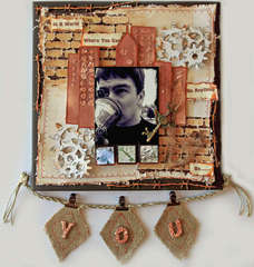 Be You **SCRAPS OF DARKNESS** February Kit-Victoriana