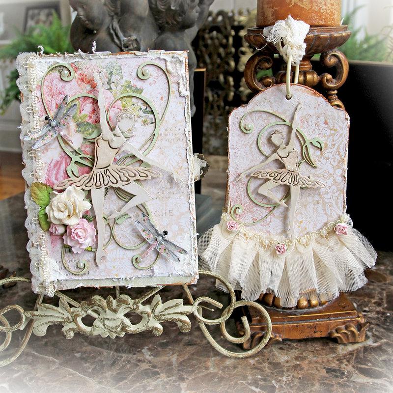 Beautiful Ballerina Book Box & Tag Album *Reneabouquets*