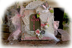 Beautiful Love Mini Album **SCRAPS OF ELEGANCE** February Kit -Love Song