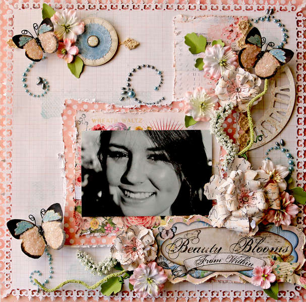 Beauty Blooms From Within **SCRAPS OF ELEGANCE** March Kit-Butterfly Dreams