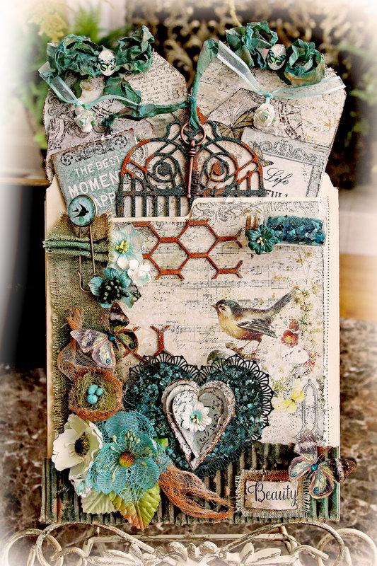 Beauty Pocket Journal *Blue Fern Studios*