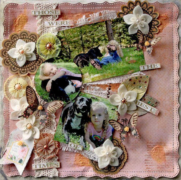Best Of Times **SCRAPS OF ELEGANCE** *November Kit-Je t'aime*