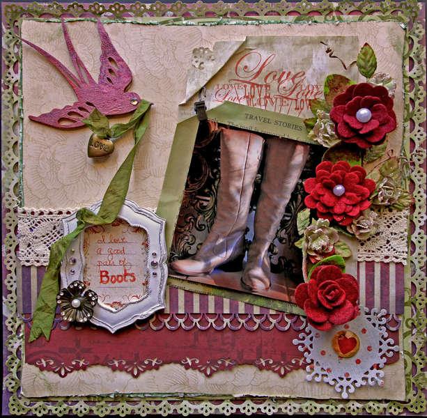 Boots **SCRAPS OF DARKNESS** April Kit- Sakurabana