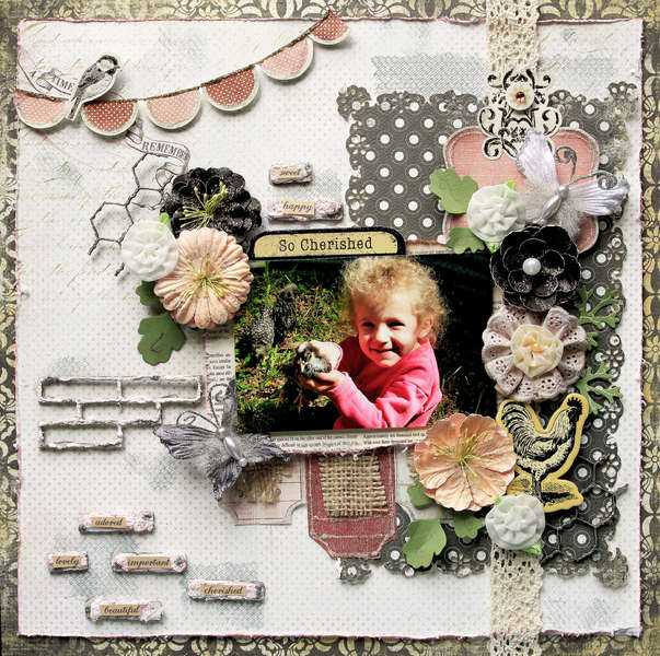 Cherished **SCRAPS OF DARKNESS** July Kit-True Romance