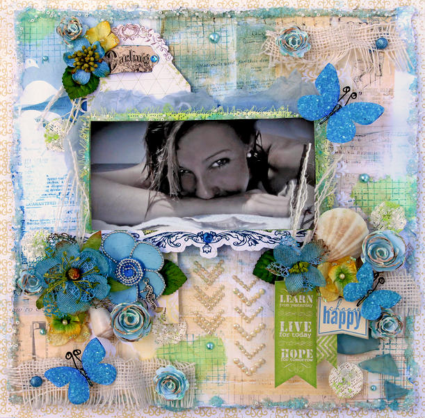 Choose Happy **SCRAPS OF ELEGANCE** April Kit-Possibility