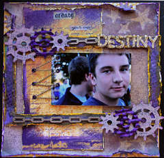 Create Your Own Destiny **Twisted Sketches** *Scraps Of Darkness*
