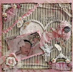 Cutie Pie *Scraps Of Elegance* February Kit~Love Always