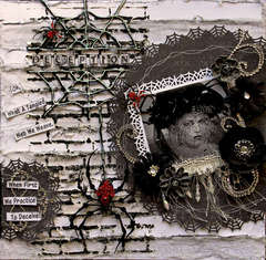Deception **SCRAPS OF DARKNESS** October Kit-All Hallows' Eve