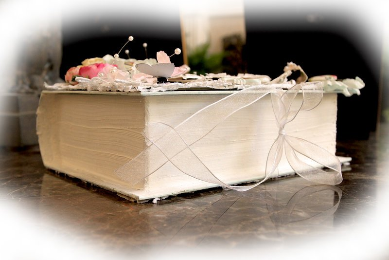 Delight Altered Book Box *Tresors De Luxe Etsy* *Scraps Of Elegance*