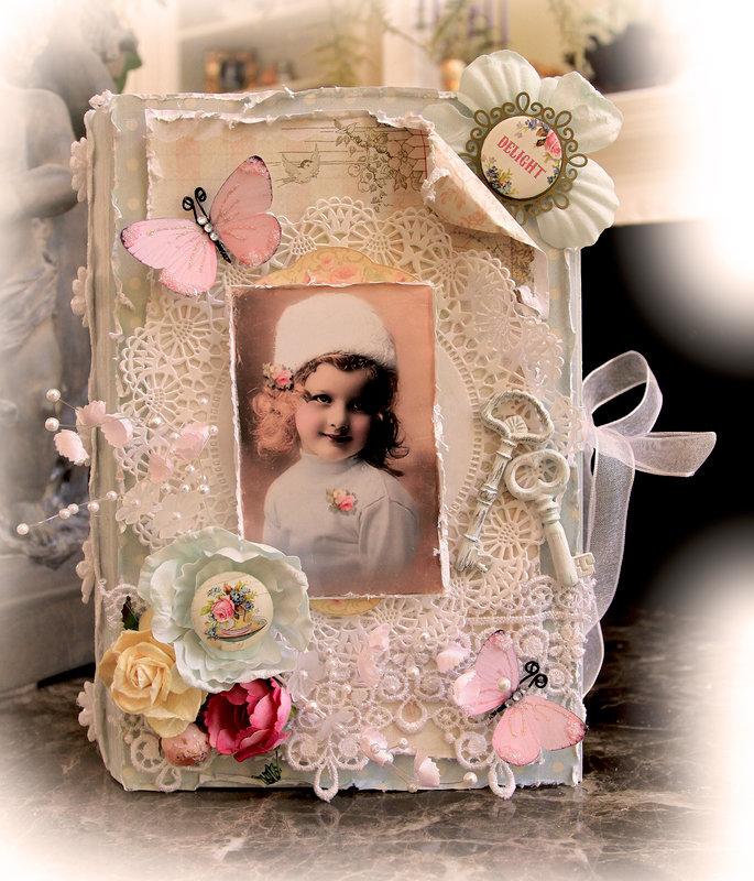 Delight Altered Book Box *Tresors De Luxe Etsy* *Scraps Of Elegance*