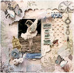 Dreams Are Our Wings **SCRAPS OF ELEGANCE** May Kit- Swan Song