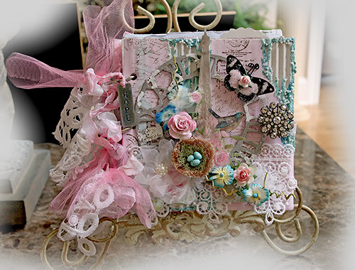 Emily Dickinson Mini Album **Tresors De Luxe** *Scraps Of Elegance*