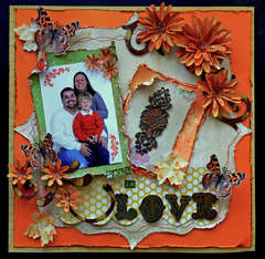 Fall In Love **SCRAPS OF DARKNESS** November Kit-Purple Haze