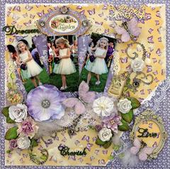 Flower Girl **SCRAPS OF ELEGANCE** March Kit-Spring's Promise