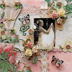 Forever & Ever **SCRAPS OF ELEGANCE** October Kit-Dreams of You
