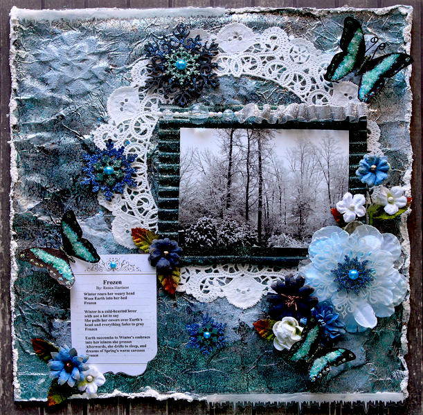 Frozen **SCRAPS OF DARKNESS** December Kit-A Long Decembe