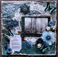 Frozen **SCRAPS OF DARKNESS** December Kit-A Long Decembe