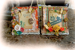 Giving Thanks Card Set *Scraps Of Elegance* November Kit~Thankful