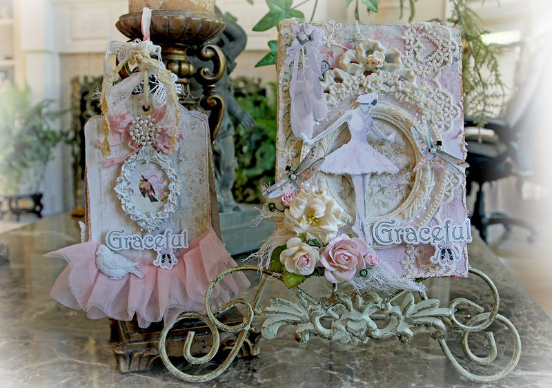 Shabby Abby Book Box & Tag Album *Reneabouquets*
