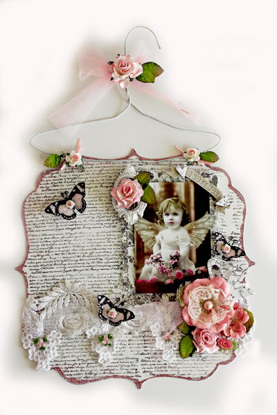 I Love You Acrylic Hanging Layout **SCRAPS OF ELEGANCE** January Kit-A Dream Within A Dream