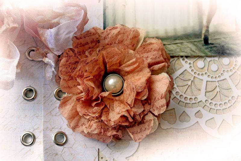 Tea Bag Flower Tutorial **SCRAPS OF ELEGANCE**