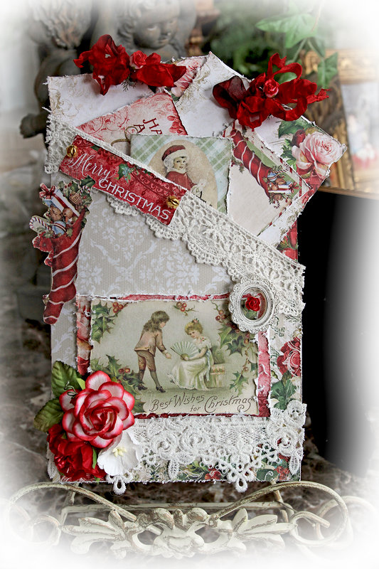 Vintage Christmas Pocket Journal *Reneabouquets Etsy*