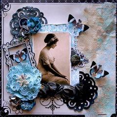 J'Adore **Scraps Of Darkness** September Kit~The Black Album