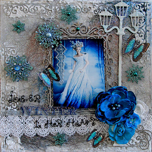 Jadis-Forever Winter In Her Heart **SCRAPS OF DARKNESS** December Kit-A Long Decembe