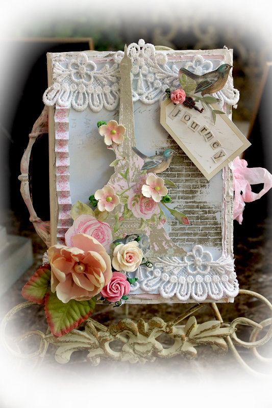 "Journey Altered ""nook"" Box **Scraps Of Elegance** August Kit~Sweet Summer Nights"